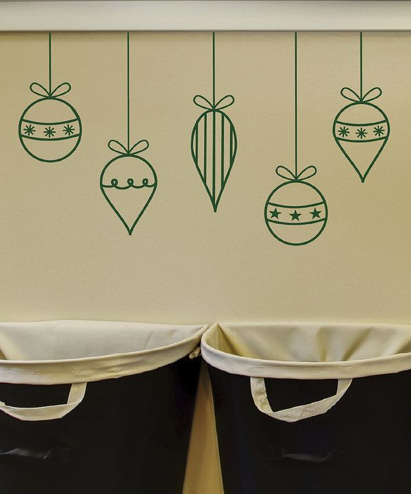 Look at this Holiday Ornaments Decal on #zulily today!