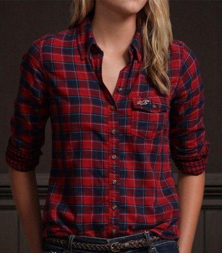 3ab898cc4d camisa hollister quadriculada