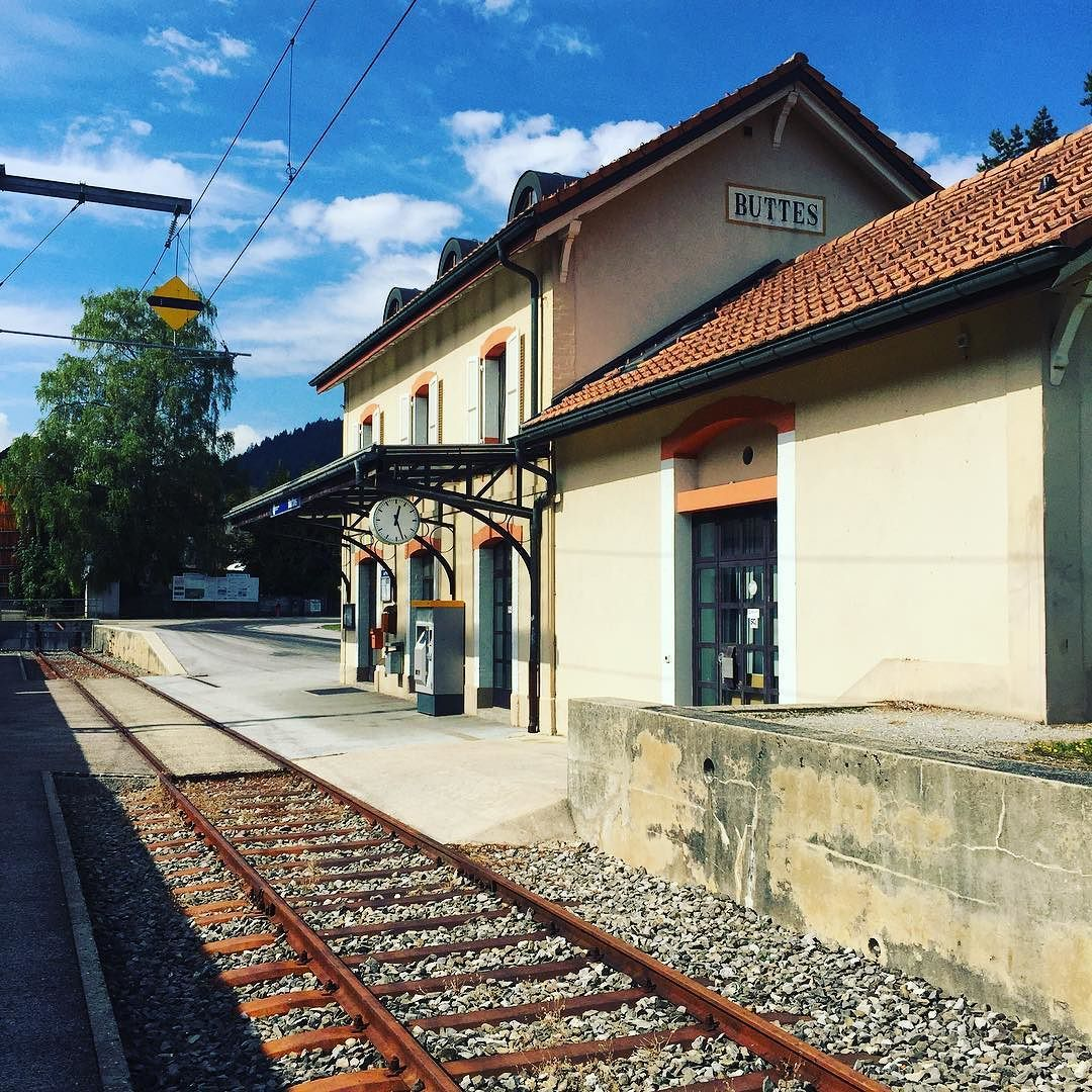 #trainstation #terminus #buttes #neuchâtel #switzerland