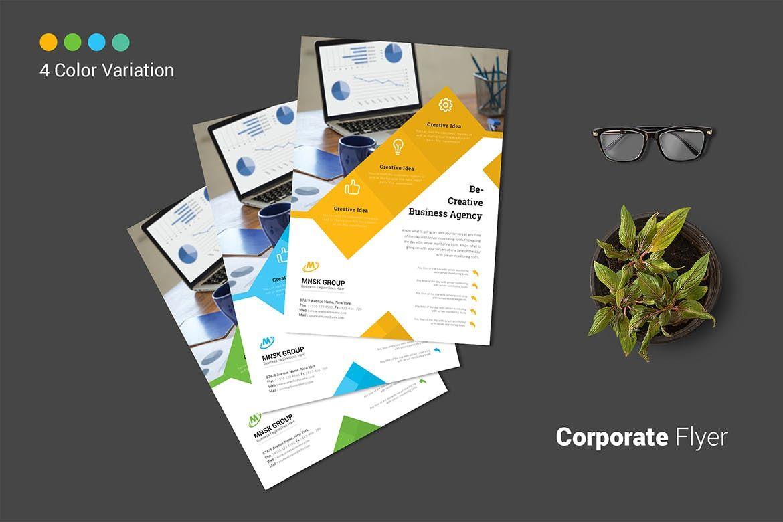 Pamphlet Template Illustrator