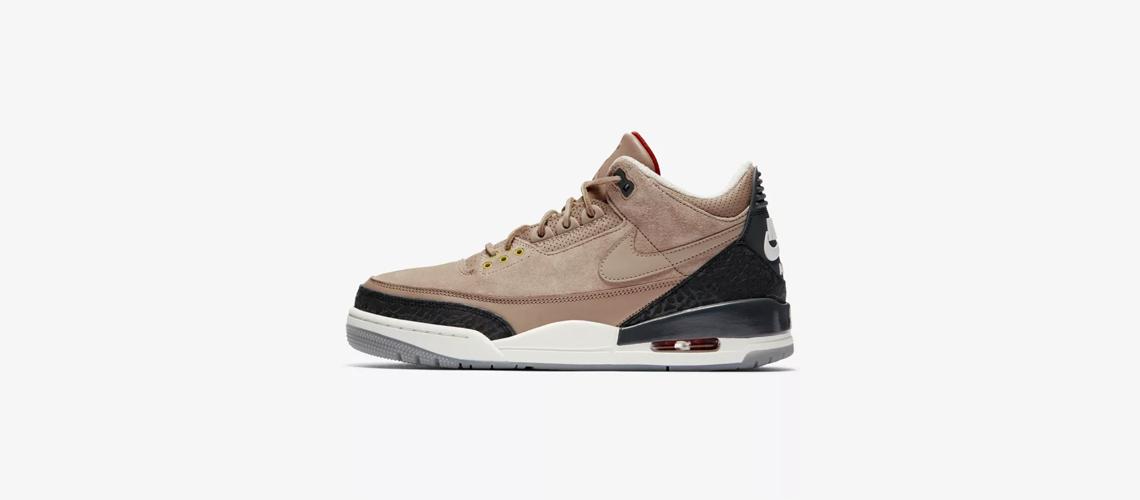 Air 3 – Bio Jordan BeigeSneaker Jth rdoxCBeW