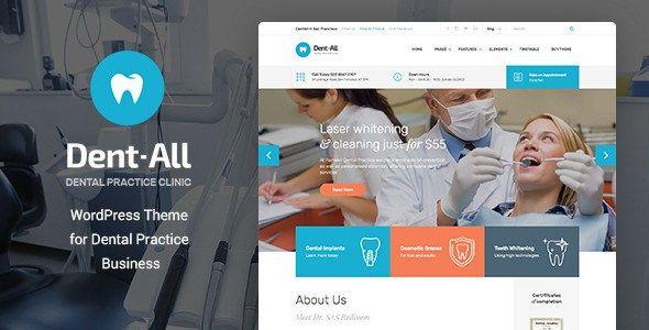 Themeforest Dent-All v1.3.4 – Dental Practice WordPress Theme ...