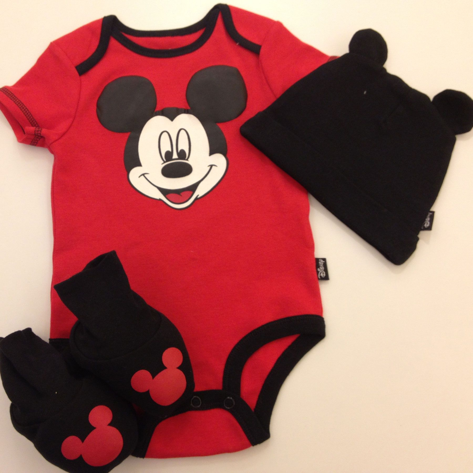 Mickey Mouse 3 Piece Layette Box Set Baby Pinterest Layette