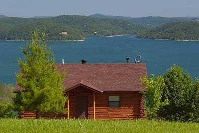 Lake Shore Cabins on Beaver Lake in Eureka Springs ...