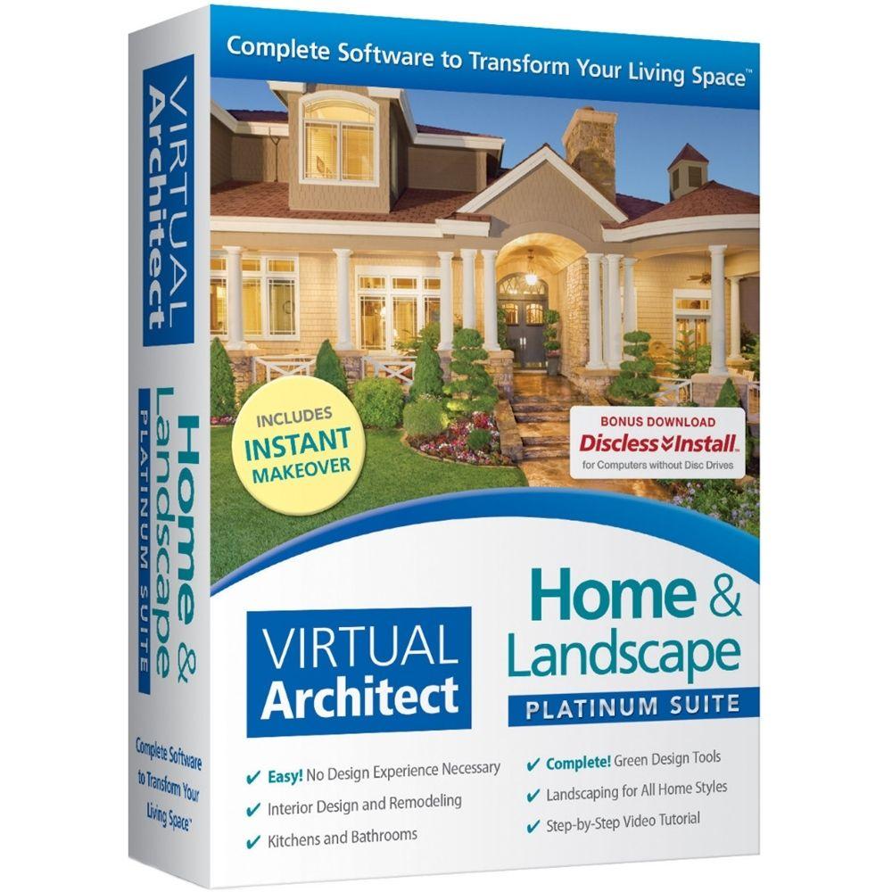 Nova Hgtv Home Landscape Platinum Suite Version 3 Windows 41022 Best Buy Best Home Design Software Home Design Software Cool House Designs