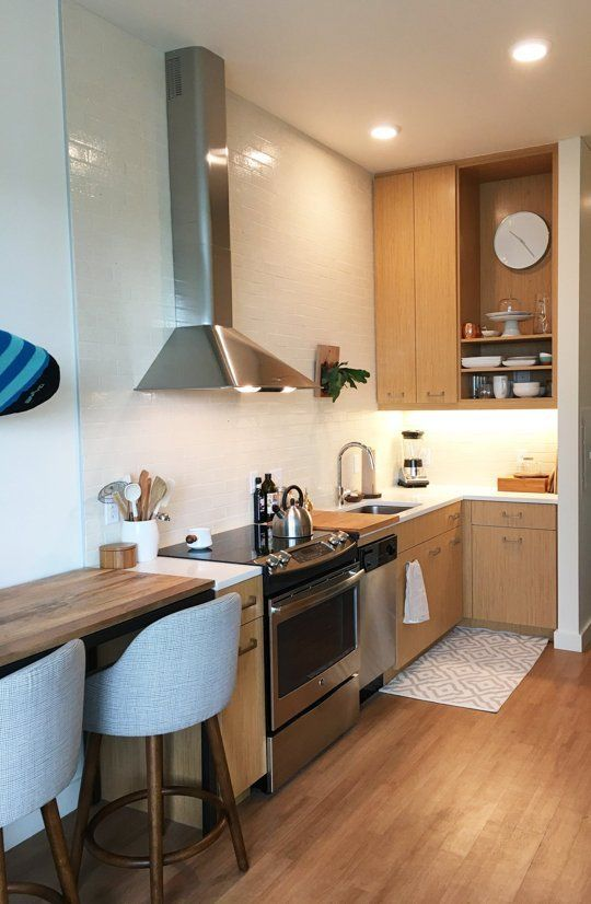 Anna S Cozy Modern Studio Small Cool Apartment Therapy