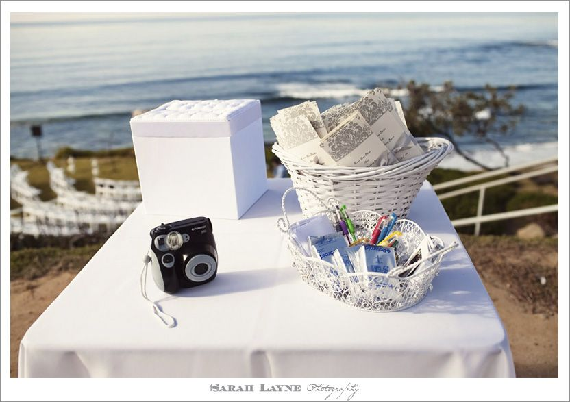 wedding guest book ideas with polaroid camera at the. Black Bedroom Furniture Sets. Home Design Ideas