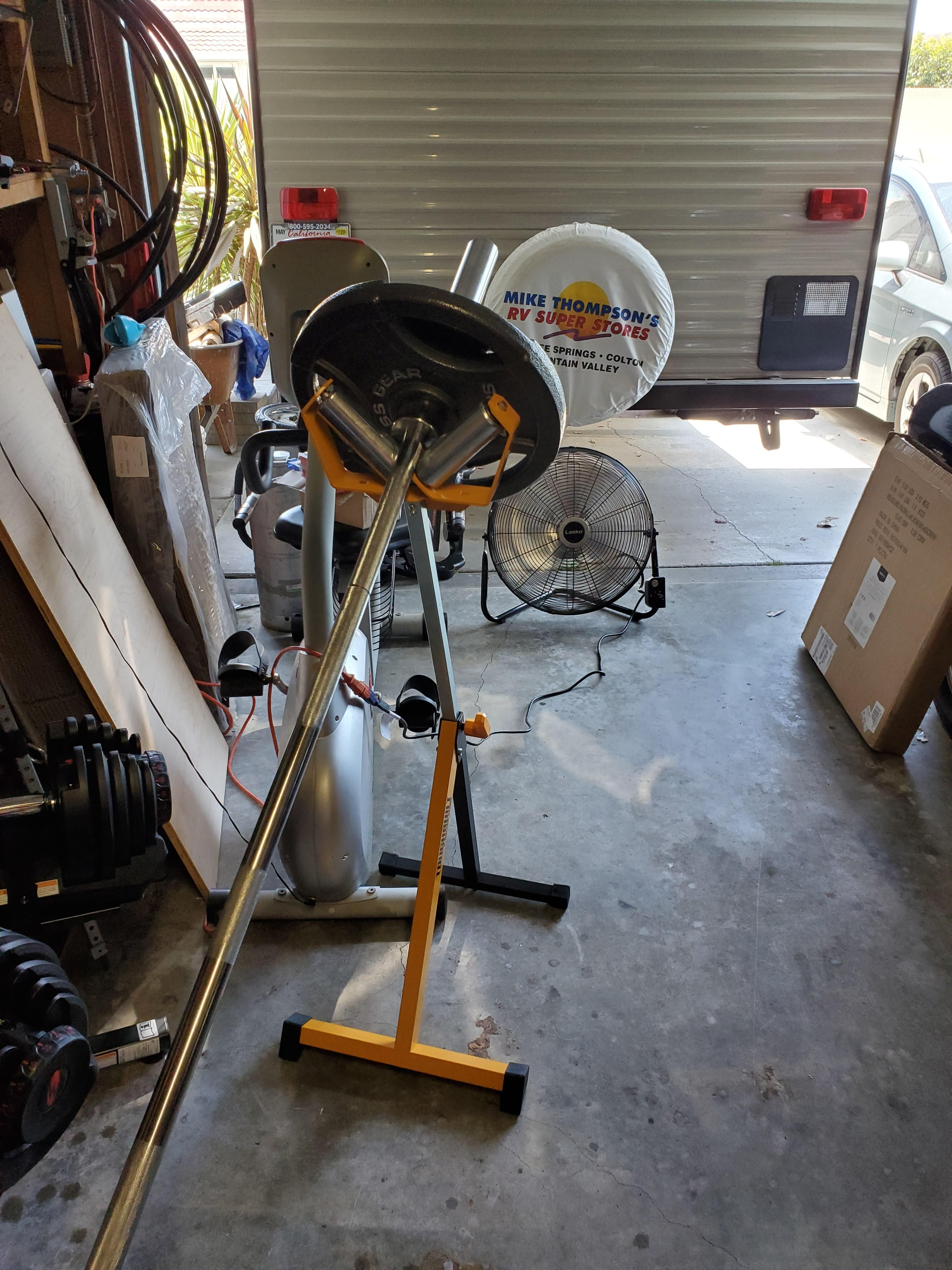 This Toughbuilt For 30 At Home Depot Makes An Excellent Landmine Stand Fun Workouts At Home Workouts Fit Life