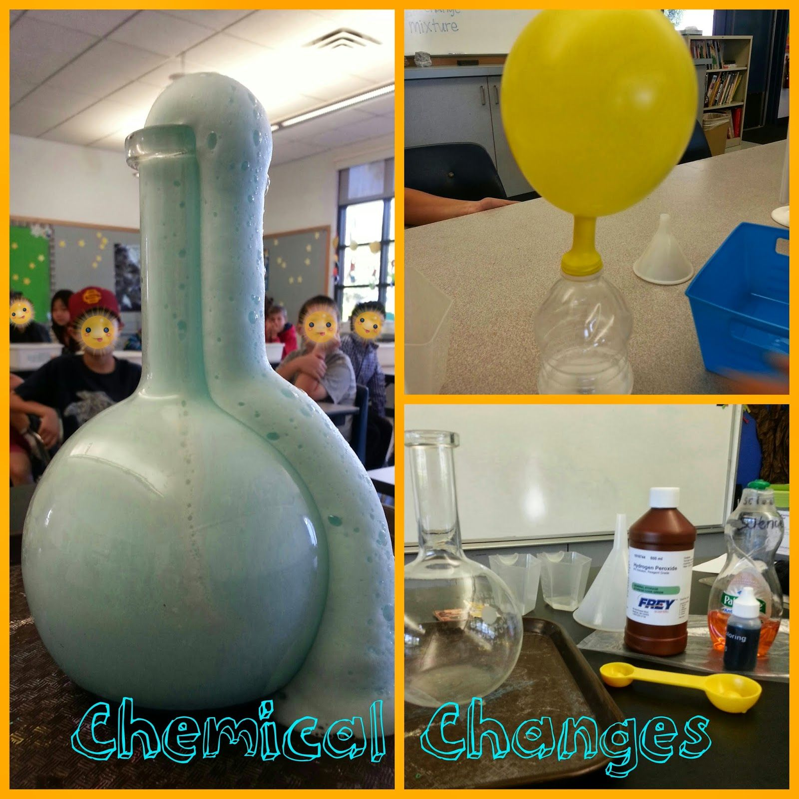 Pop Fizz Elementary Chemical Changes