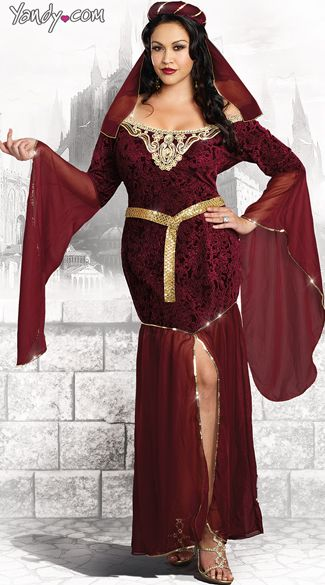 4ed426aba6932 Plus Size Medieval Enchantress Costume. 2015 Sexy Halloween Costumes Ideas  ...