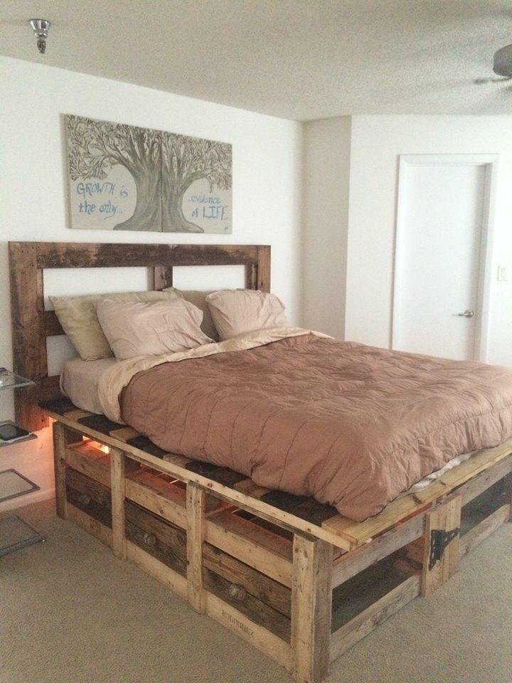diy bed headboard