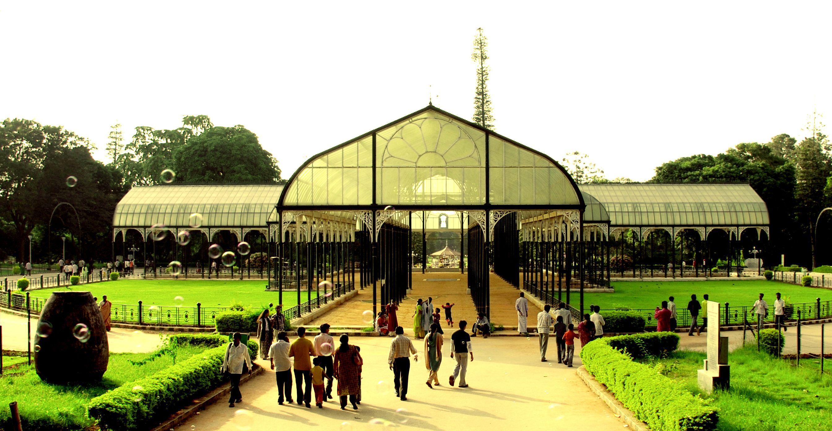 Lalbagh Botanical Garden, Bangalore This enchanting