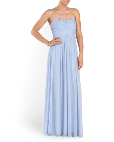 68cea1d9cc6ef Strapless Prom Gown - Formal - T.J.Maxx   Prom   Prom dresses ...