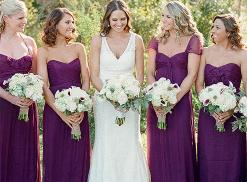 hitapr.net bridesmaid purple dresses (32) #purpledresses | Dresses ...