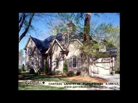 THE CHATEAU LAFAYETTE HOUSE PLAN BY GARRELL ASSOCIATES INC MICHAEL W GARRELL GA13