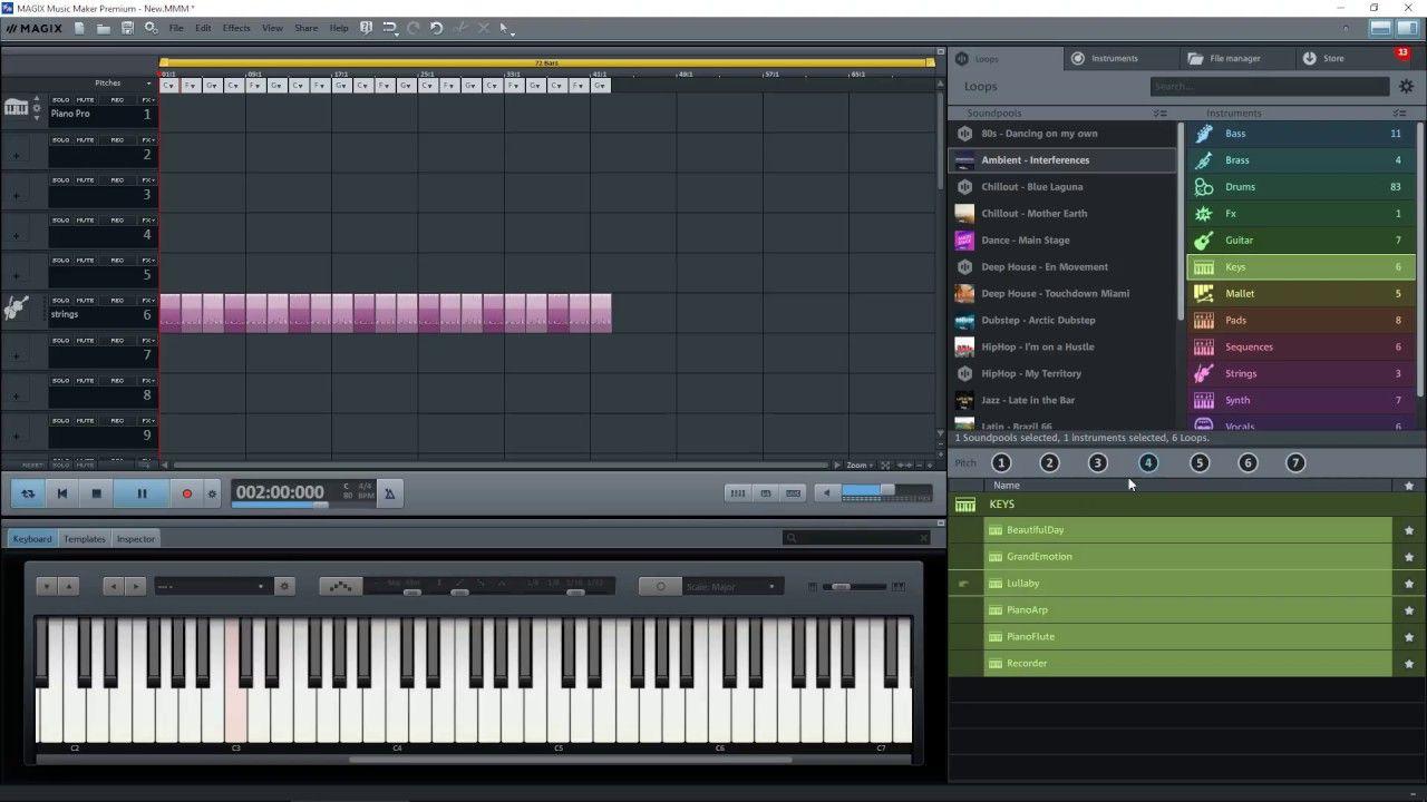 Magix Music Maker Premium 2017 Absolute Beginner's