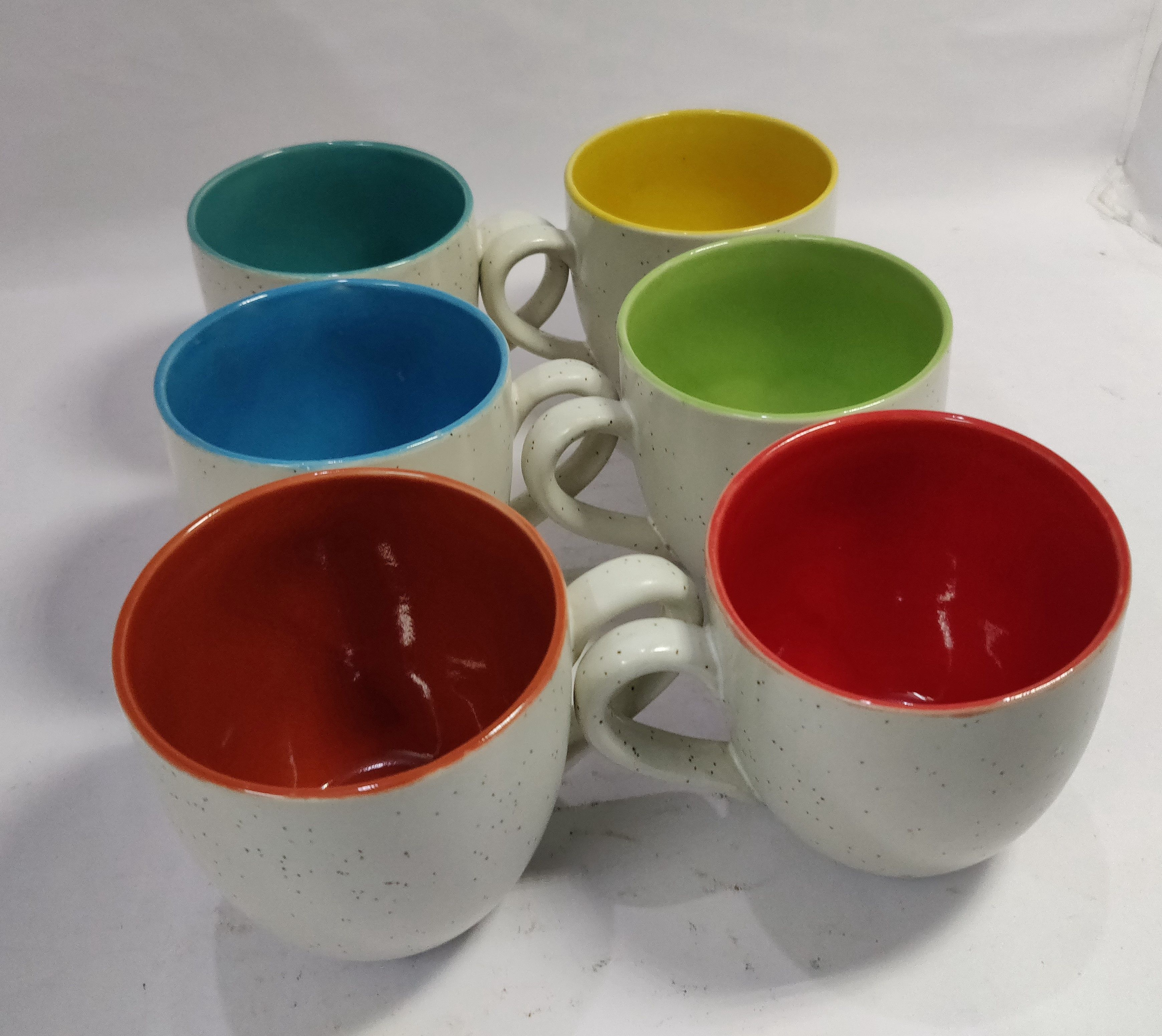 Very Attractive Ceramic Coffee Mugs Pack Of 6 Hand Made By Artisans Of India Mugs Coffee Mugs Fun Cup