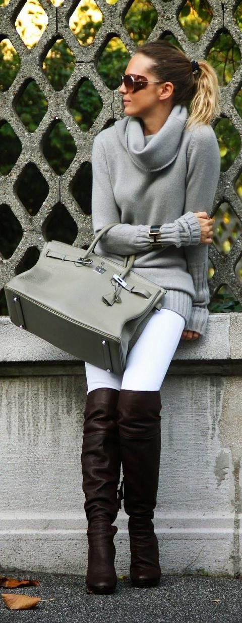 28 Trendy Winter Outfit Ideas with Boots.