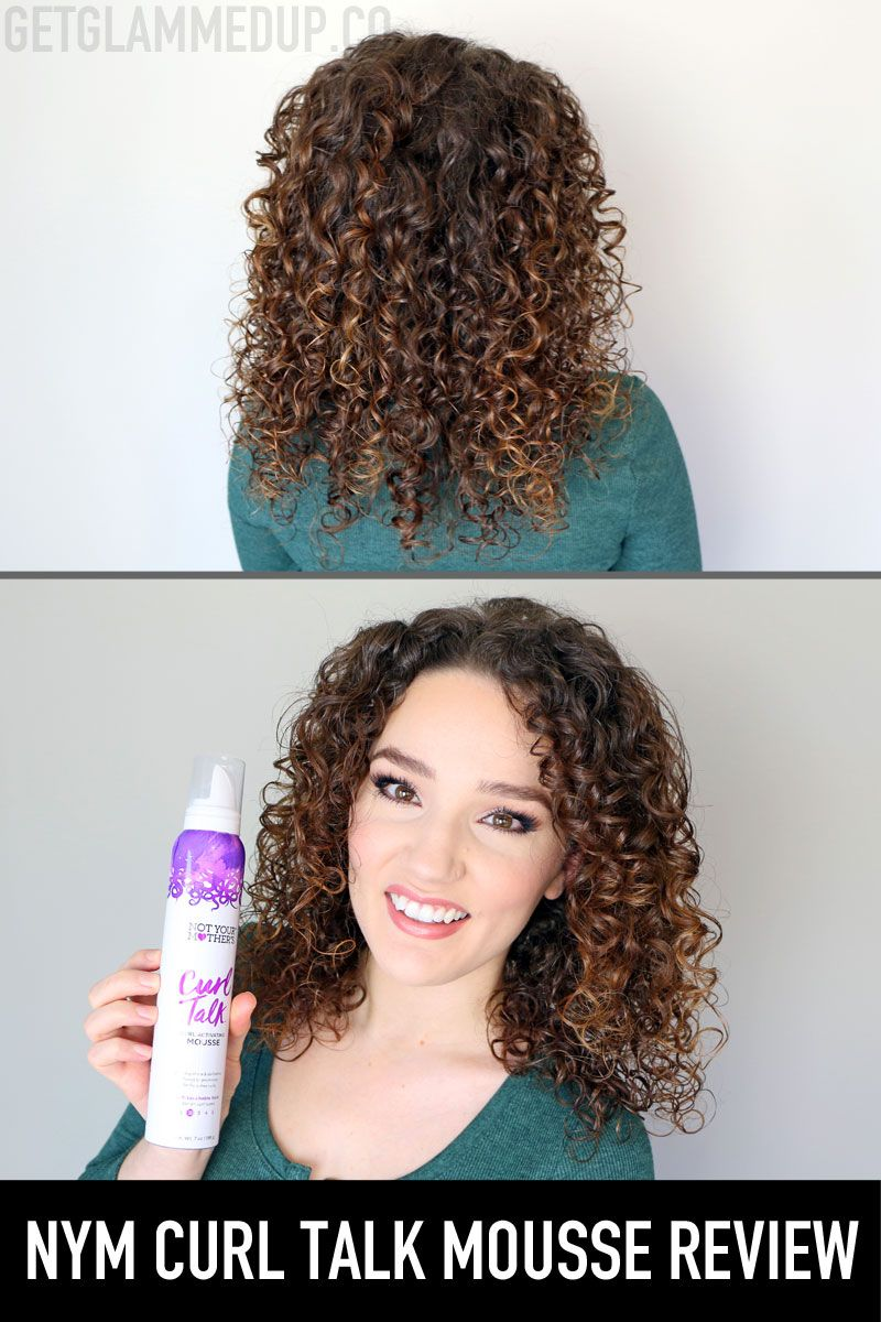 Not Your Mother S Curl Talk Curl Activating Mousse Review Watch