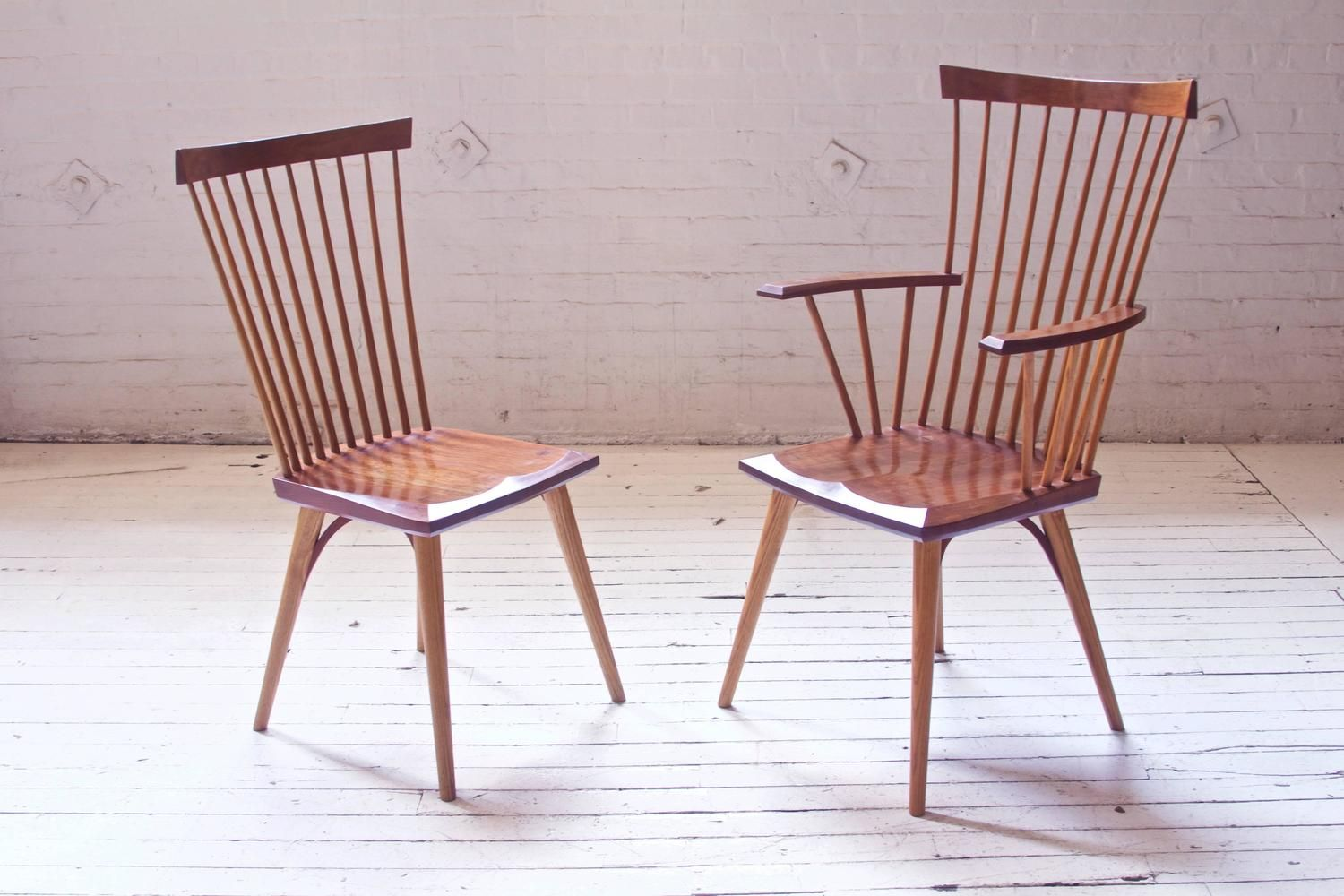 Vintage Set Of Cherrywood Thomas Moser Eastward Dining Chairs 1stdibs Com Dining Chairs Chair Furniture Chair