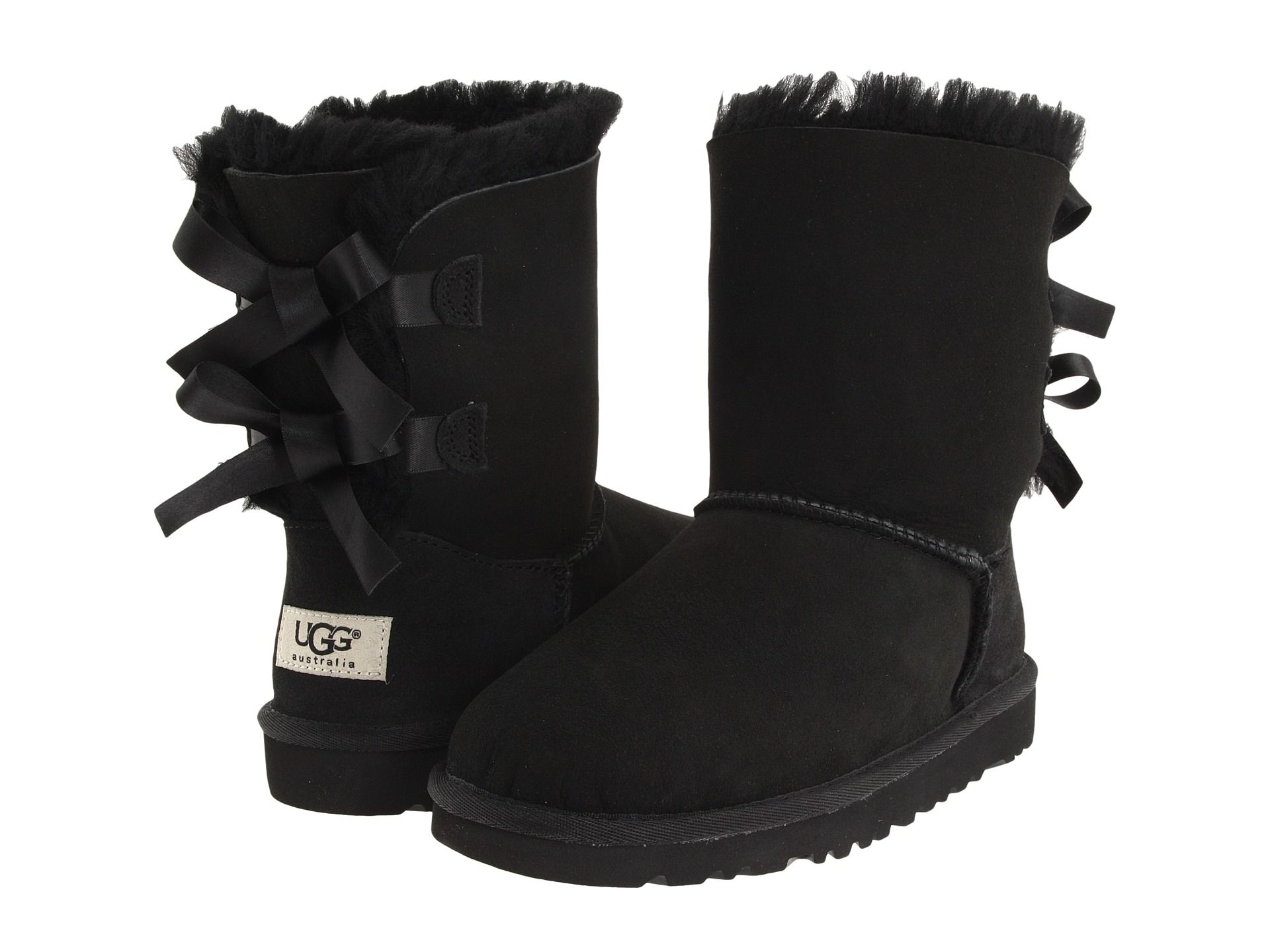 ugg bailey bow 3280 black boots