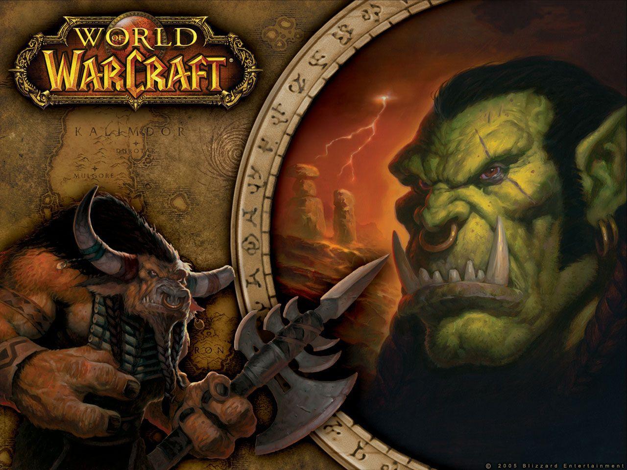 Wow The Horde Tauren And Orc Wallpaper 2413 Jpg 1280 960 World