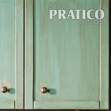R aliser une patine l 39 ancienne sur des armoires de m lamine en tapes d coration et - Peinture a l ancienne pour meuble ...