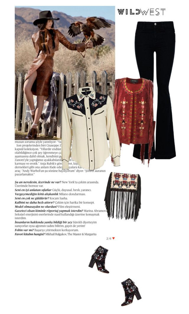 """""""Wild West Style"""" by aysebt ❤ liked on Polyvore featuring Balmain, STELLA McCARTNEY, Isabel Marant and wildwest"""