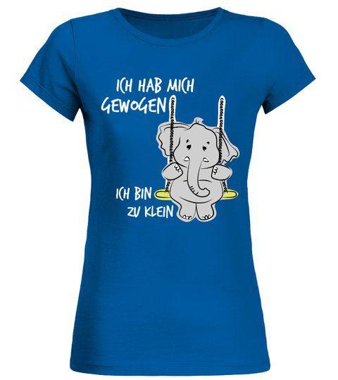 Ich bin zu klein - Rundhals T-Shirt Frauen #Shirts #TShirts