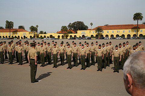 San Diego Marine Boot Camp Graduation Mcrd San Diego Marine Corps Marine Corps Bases