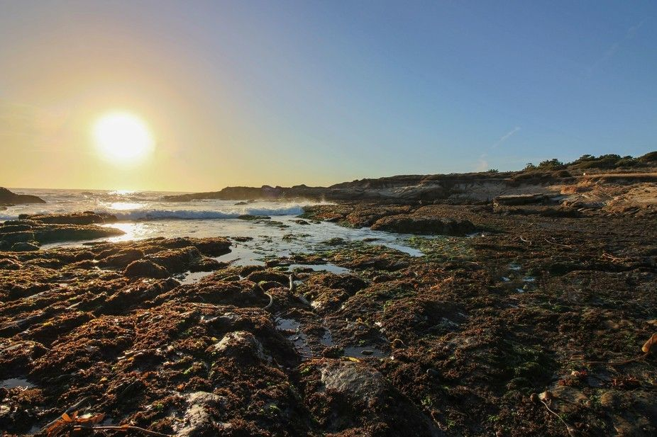 Photography: Tide Pool Sunset