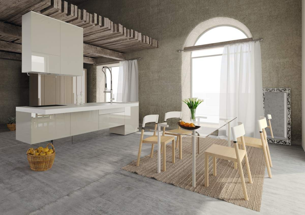 36e8 kitchen evolution top monolito interiordesign for Interior design italiani