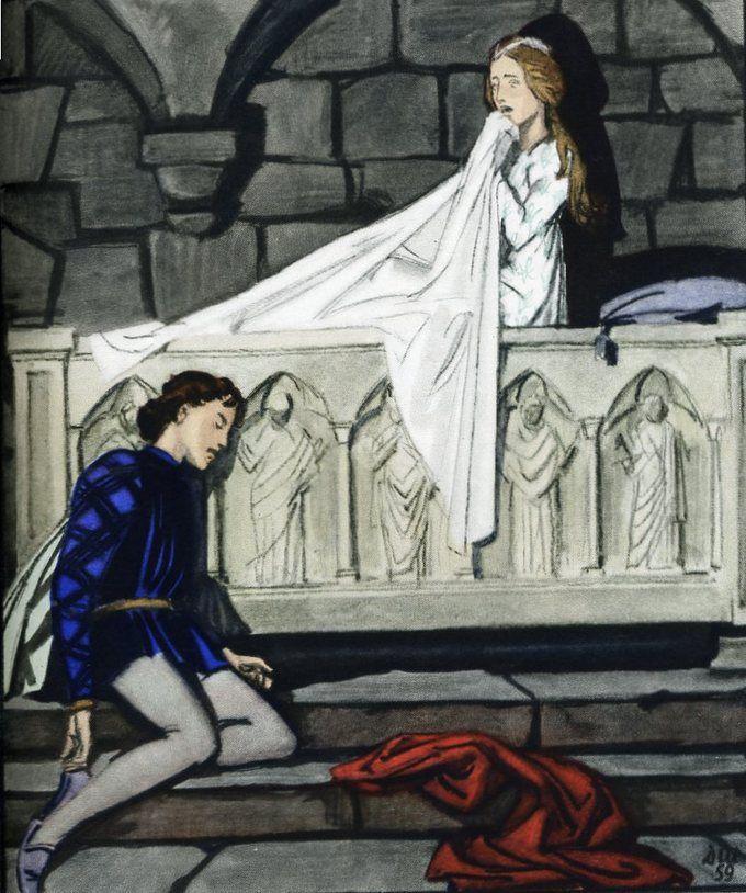 Ромео и джульетта рисунки