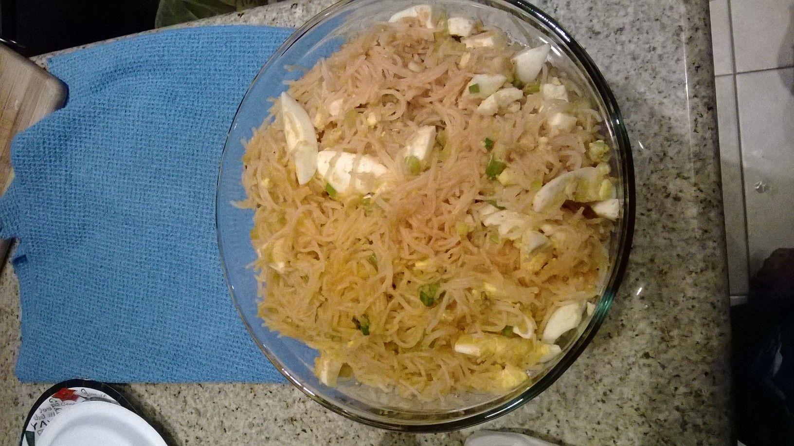 Palabok - Filipino food