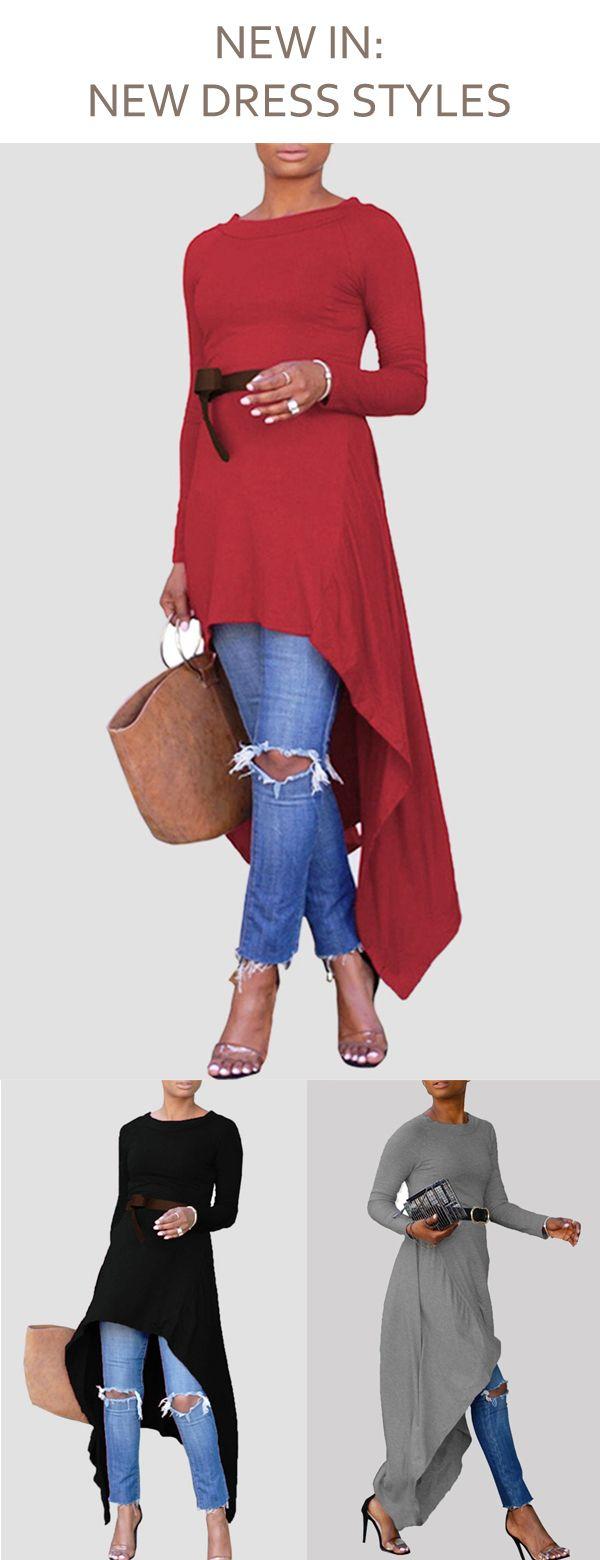Asymmetric longshort dress Все о женской моде и шитье