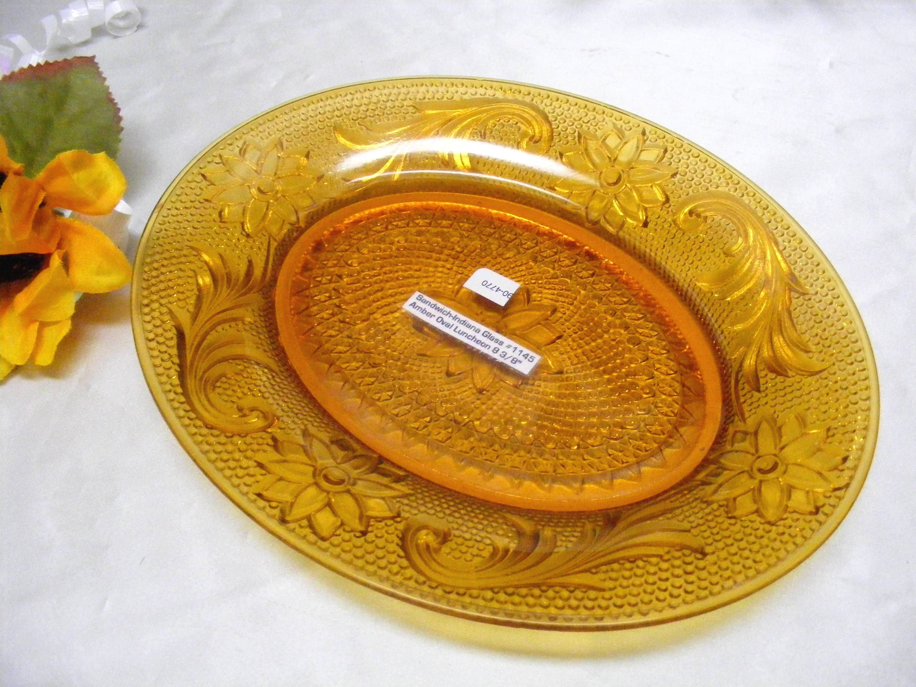 Vintage Tiara Chantilly Sandwich Luncheon or Dessert Plate