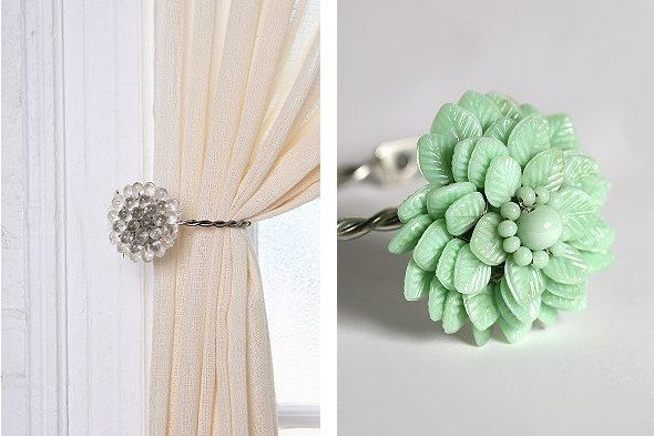 17 best images about Decorative curtain tie back hooks on ...