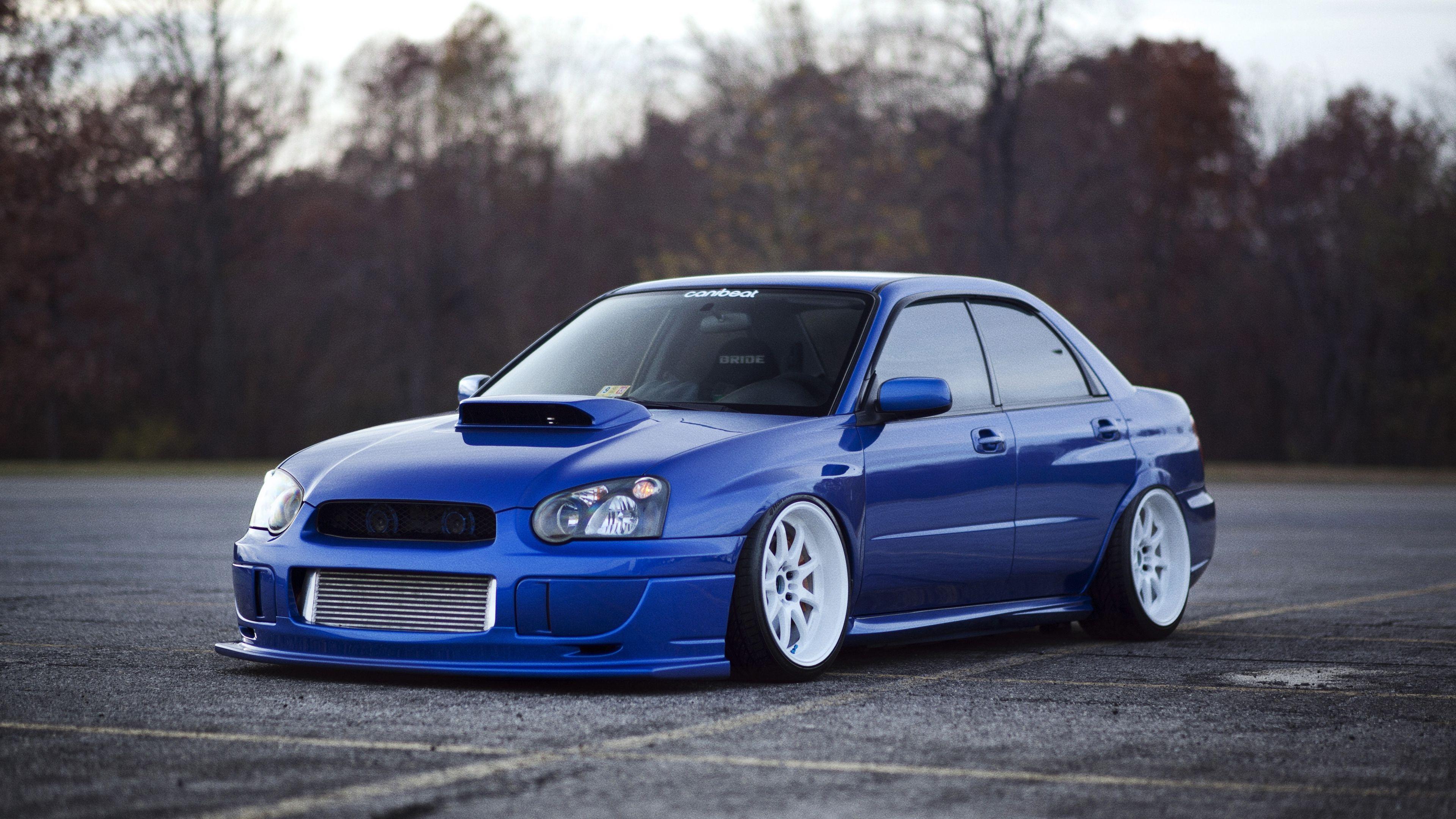 Subaru Impreza Wrx Sti Subaru Tuning Blue 4k Wrx Sti Subaru