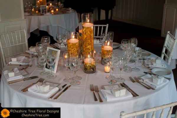floating candle centerpieces for wedding reception - Wedding Decor Ideas