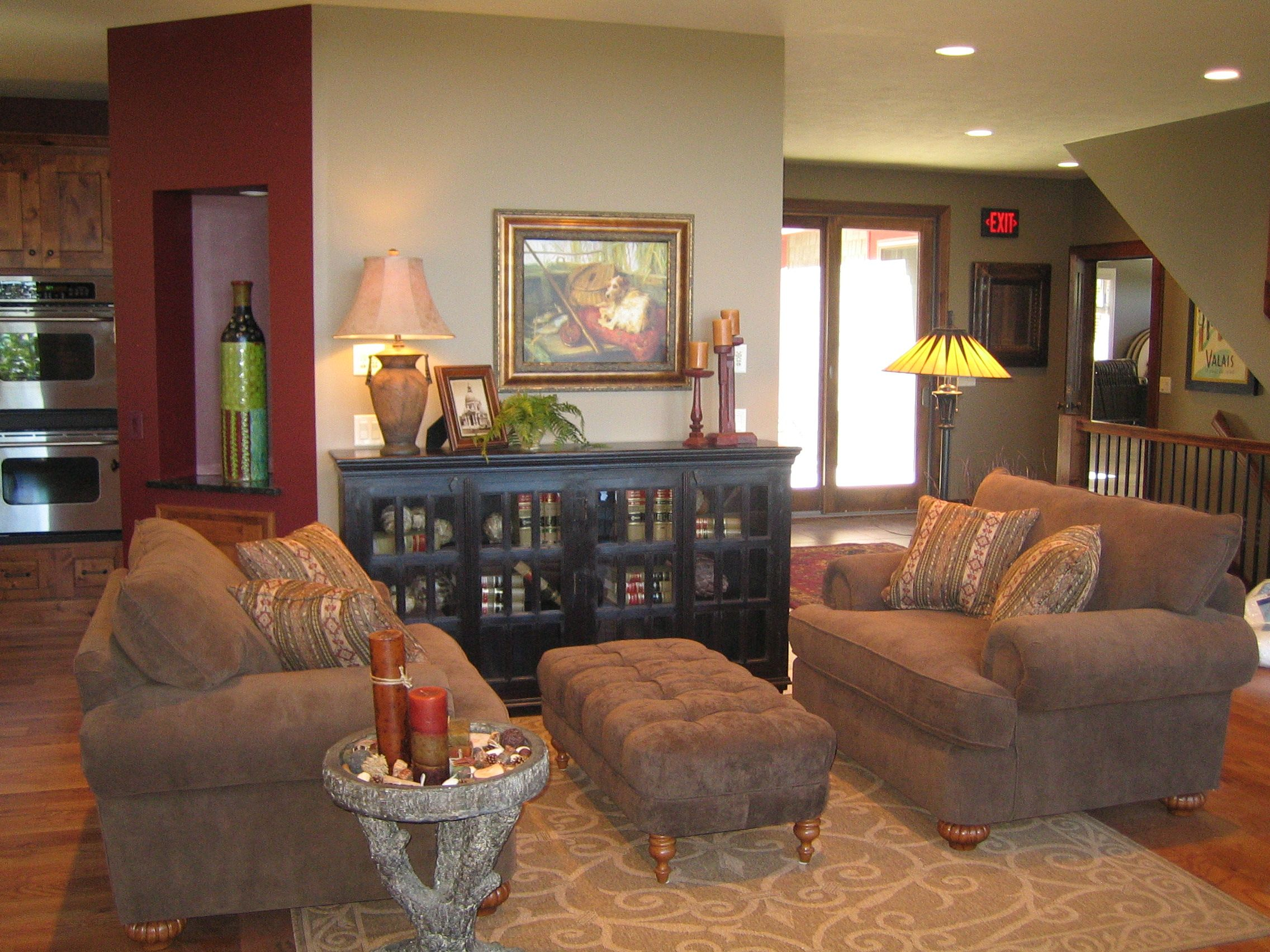 Conversation area on main level Vacation homes for rent
