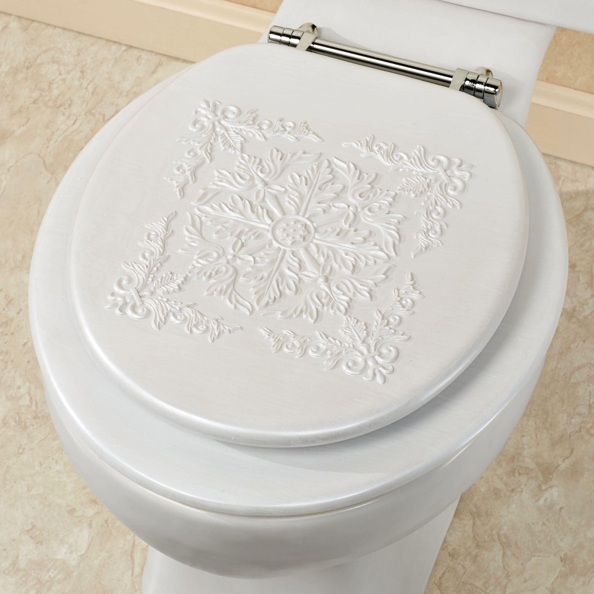 Marquis White Toilet Seat
