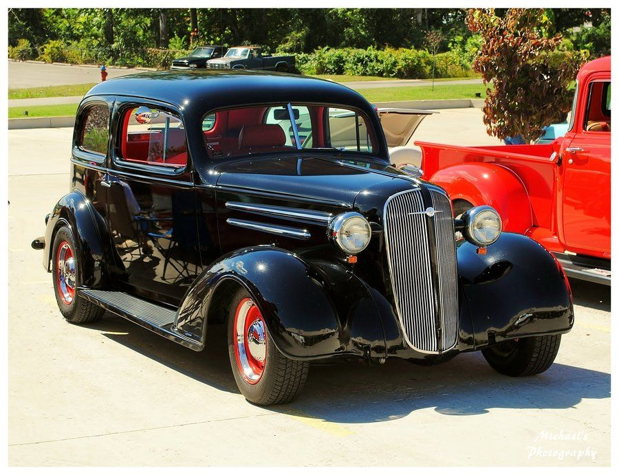 A 1936 chevy 2 door sedan by on for 1936 chevrolet 4 door sedan