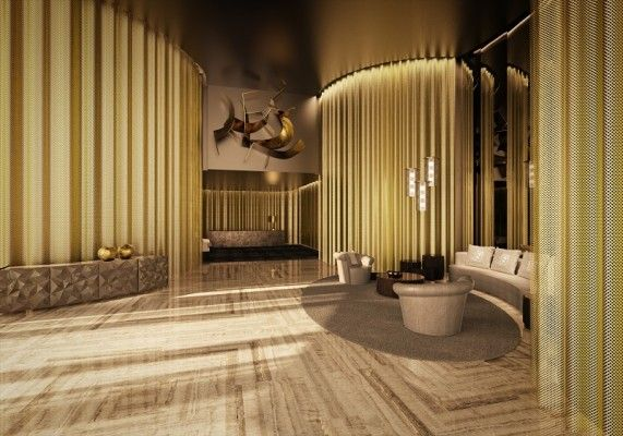 interiors by fendi casa in the lobby of damac residenze 571x400