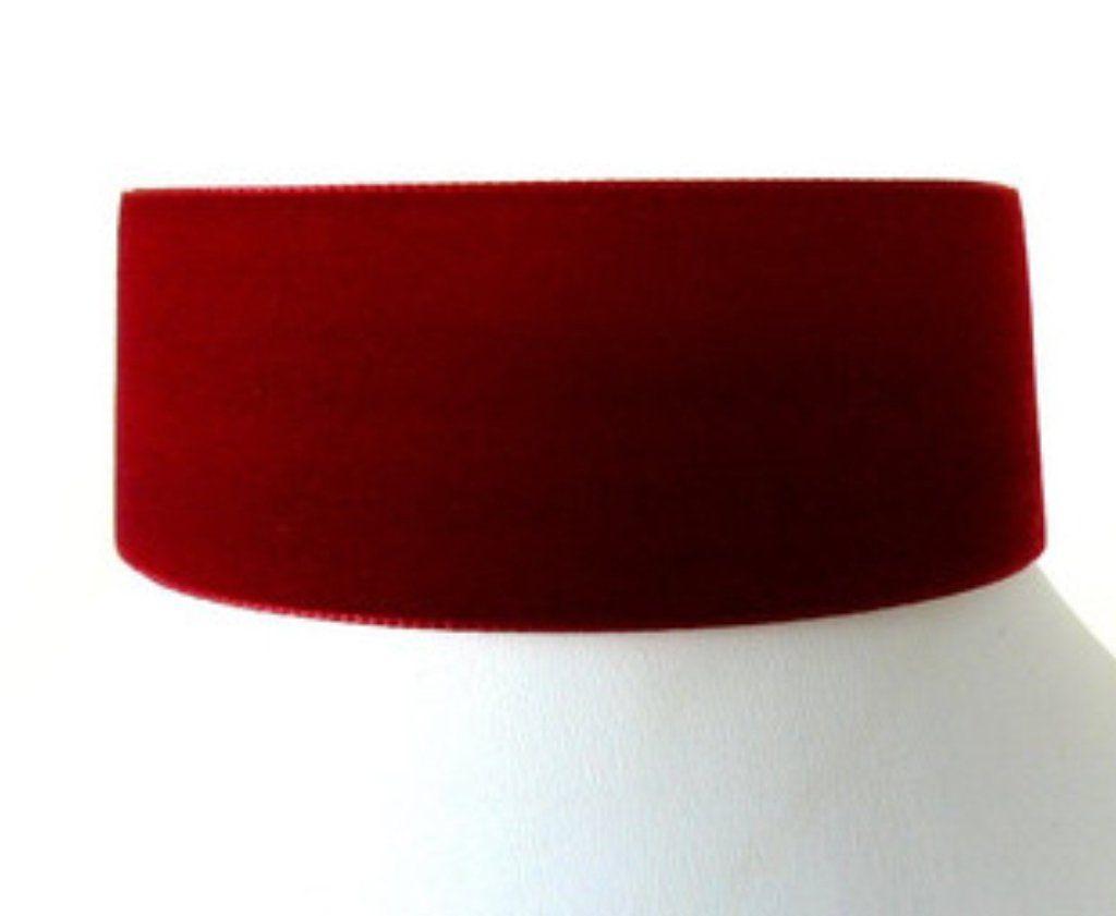 Thick Red Basic Choker