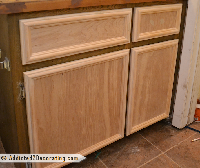 Bathroom Makeover Day 3 How To Make Cabinet Doors Without Using
