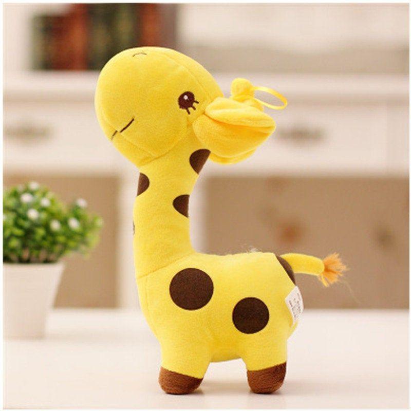 Cute Kids Baby Giraffe Dear Soft Plush Toy Little Animal Doll Party Gifts 18CM