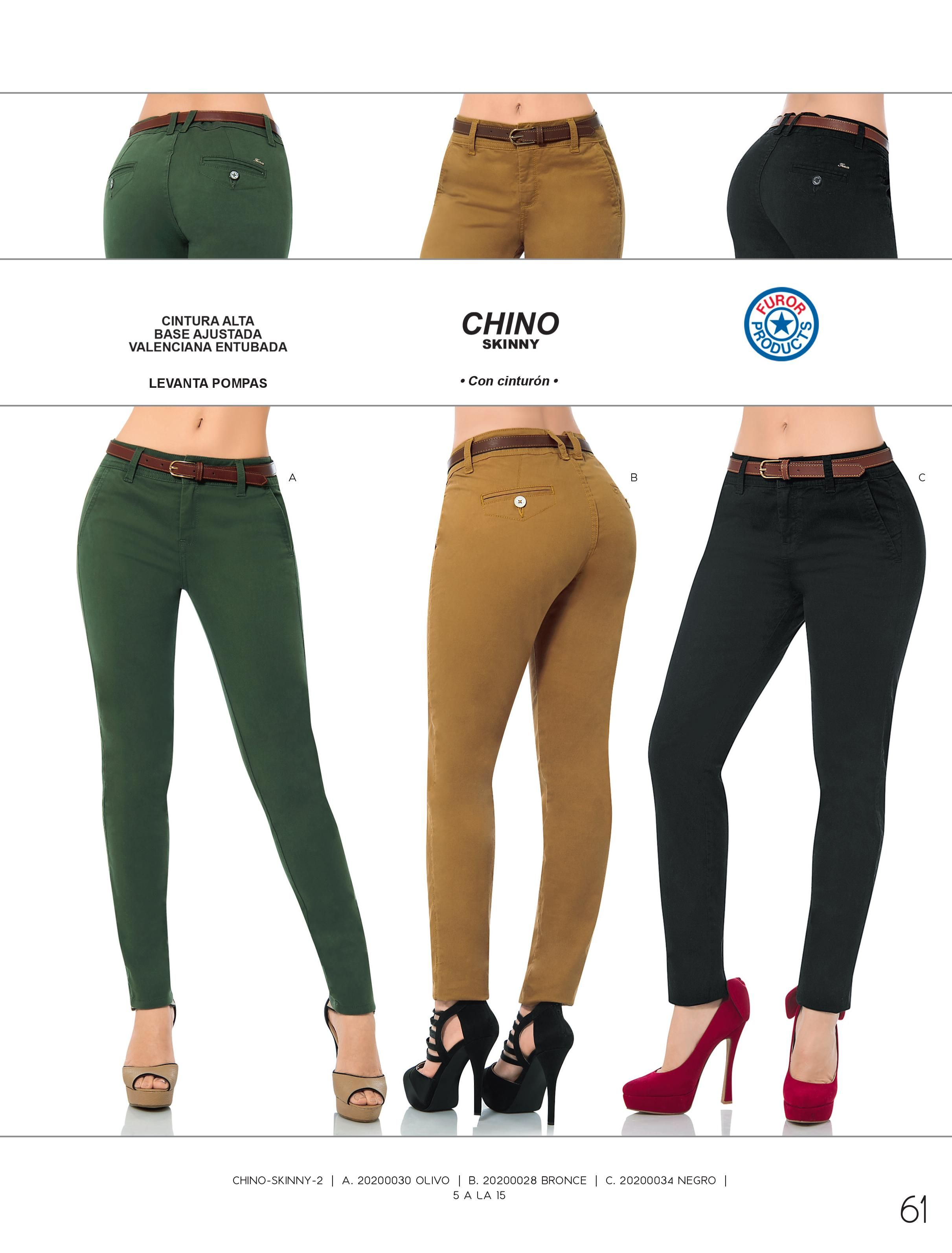 Pantalones Dama Furor Colores Ropa Outfits Damas