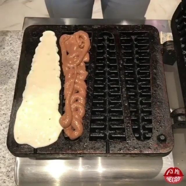 Waffle snacks... Eat or pass! 247crafts for more videos.::: by ayminegra#waffle