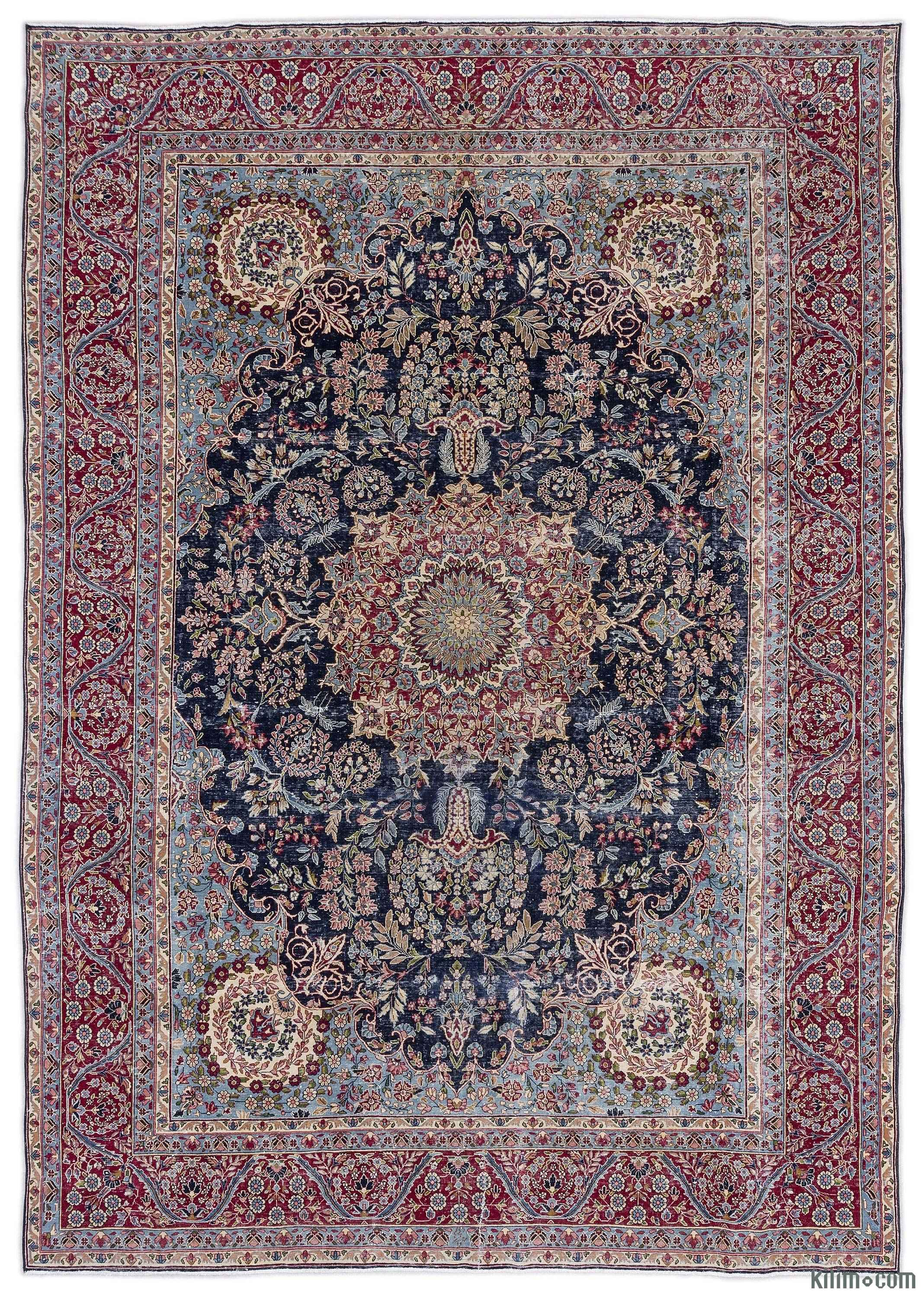 For A Contemporary Look With A Vintage Appeal We Source Persian Rugs In Excellent Condition And Carefully Trim The Piles Vintage Persian Rug Vintage Rugs Rugs