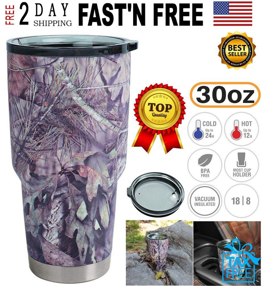 Travel Yeti Vacuum 30oz Cup Non Insulated Tumbler Lid Rambler Spill zqSUMGVp